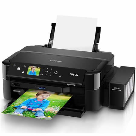 Epson L810 Colour Ink Tank System Photo Printer 2