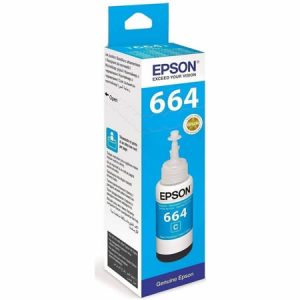 Epson T6642 Cyan ink bottle 70ml Ink Cartridge 2