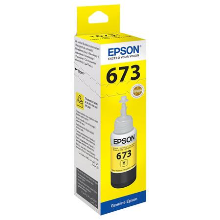 Epson T6734 Yellow ink bottle 70ml Ink Cartridge 1
