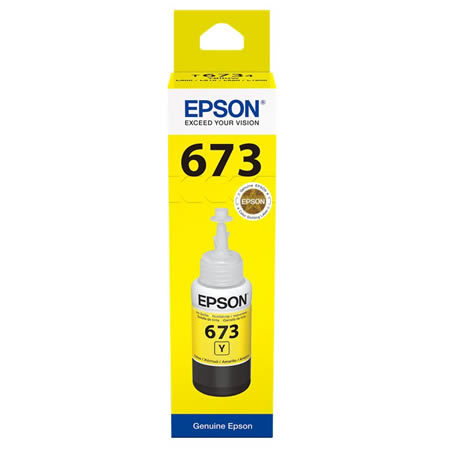 Epson T6734 Yellow ink bottle 70ml Ink Cartridge 2