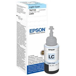Epson T6735 Light Cyan ink bottle 70ml Ink Cartridges 1