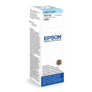 Epson T6735 Light Cyan ink bottle 70ml Ink Cartridges 2