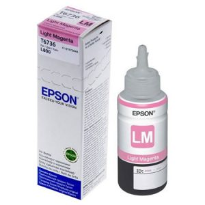Epson T6736 Light Magenta ink bottle 70ml Ink Cartridge 2