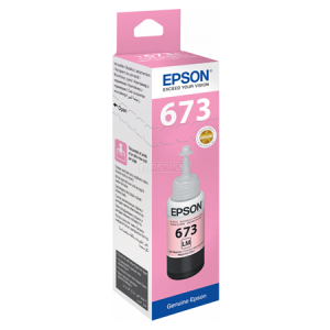 Epson T6736 Light Magenta ink bottle 70ml Ink Cartridge 1