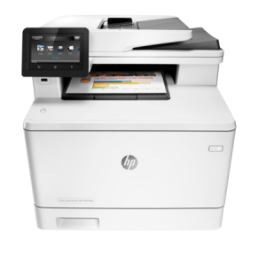 HP Color LaserJet Pro MFP M477fdw Printer 1