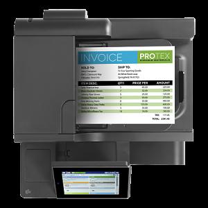 HP OfficeJet Enterprise Color MFP X585dn Printer 2